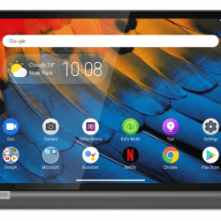商品画像:Lenovo Yoga Smart Tab(10.1/Android 9.0/アイアングレー/3GB+32GB/WWANあり) ZA530049JP